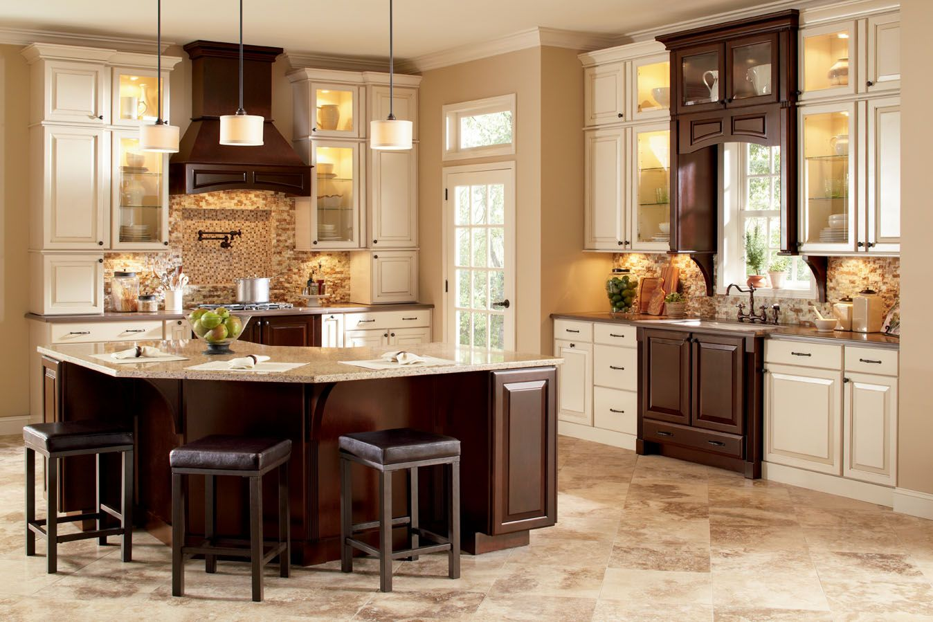 light kitchen cabinets. ideas about cream kitchen cabinets on