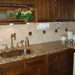 backsplash ideas for dark granite countertops