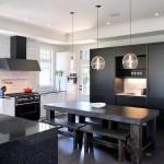 black and white kitchen floor tiles