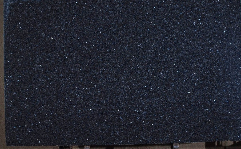 Blue Pearl Granite Kitchen Island