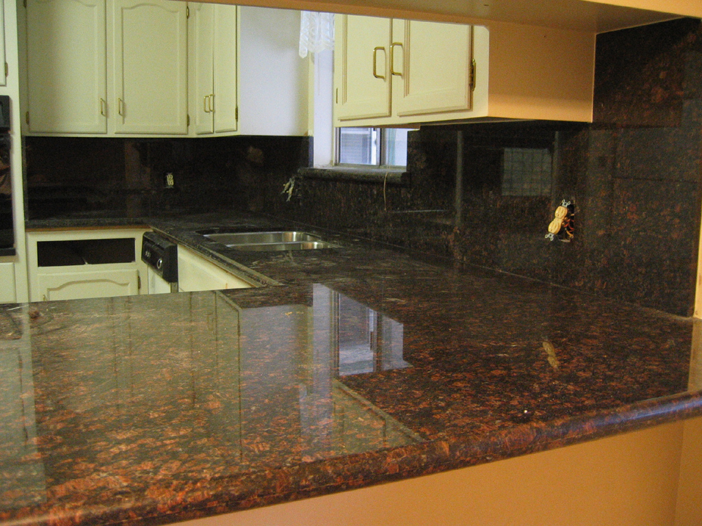 Tan Brown Granite Countertops Kitchen Brown Quartz Countertop Home And Cabinet Reviews