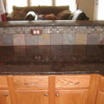 chocolate brown granite countertops