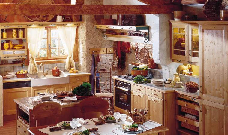 Ingredients that make up a country cottage kitchen home for Country cottage kitchen design