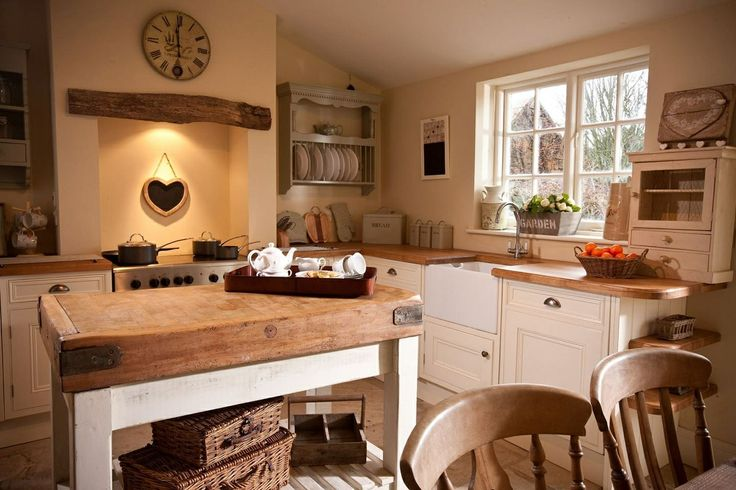 Cottage Style Kitchens With Yellow Cabinets Cozy Cottage Style