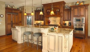 early american kitchen cabinets