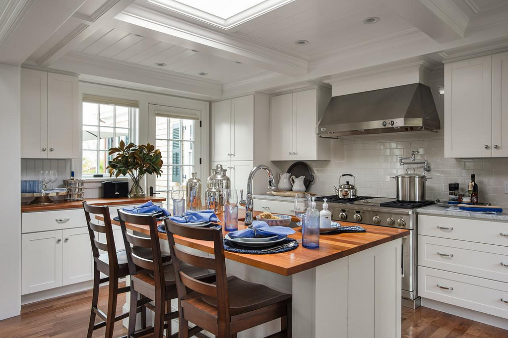 How to opt for country kitchen furniture home and cabinet reviews - Country kitchen colors ...