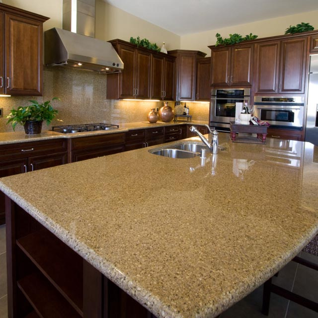 Granite Kitchen Countertops With Backsplash: How To Match Countertops And Cabinetry By Design