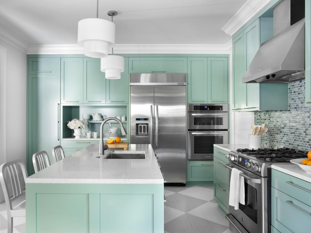 kitchen cabinet countertop color combinations