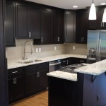 kitchen design ideas dark cabinets