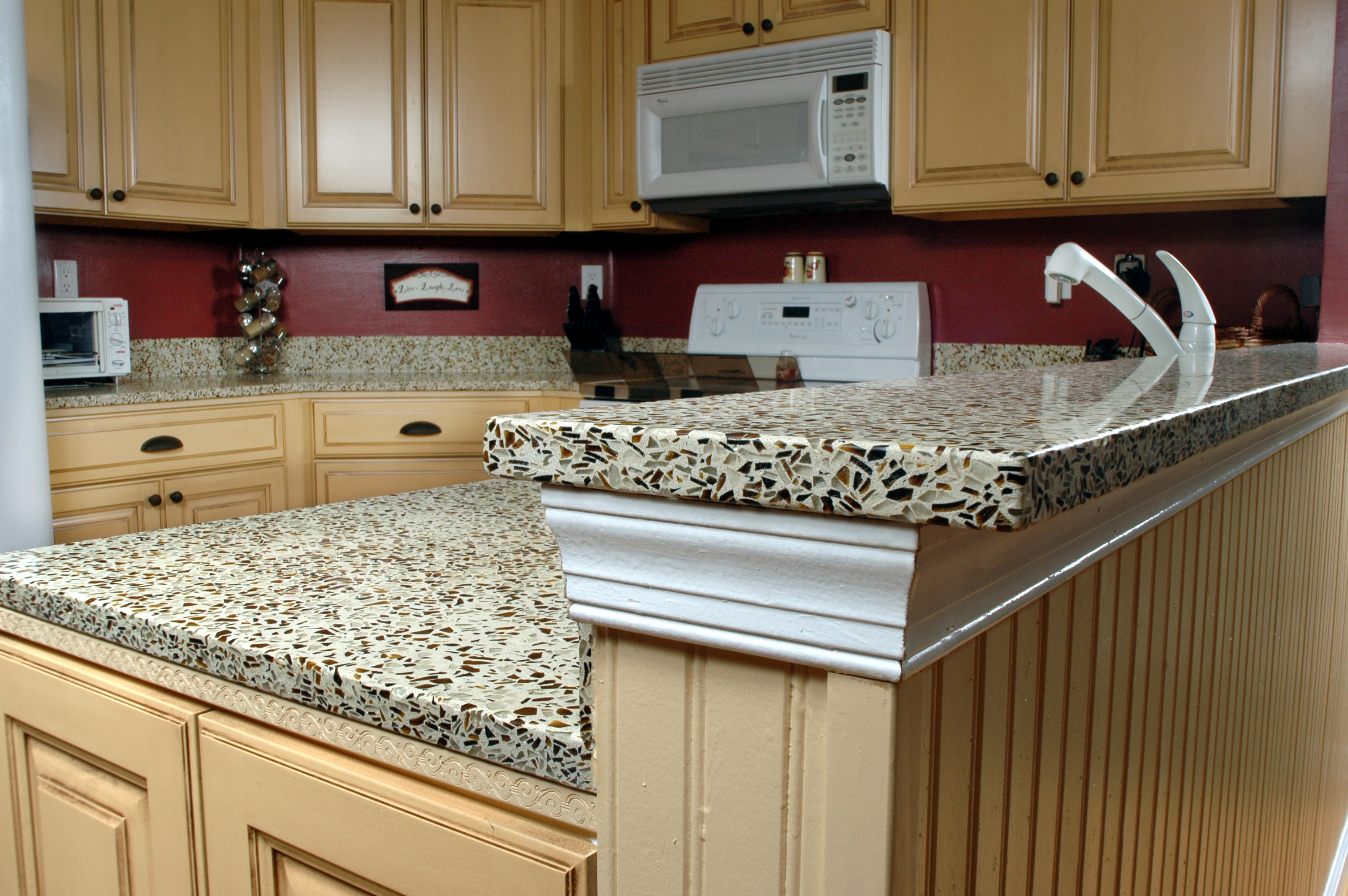 Countertop Options Other Than Granite : Woody Countertop Kitchen Tables Home and Cabinet Reviews