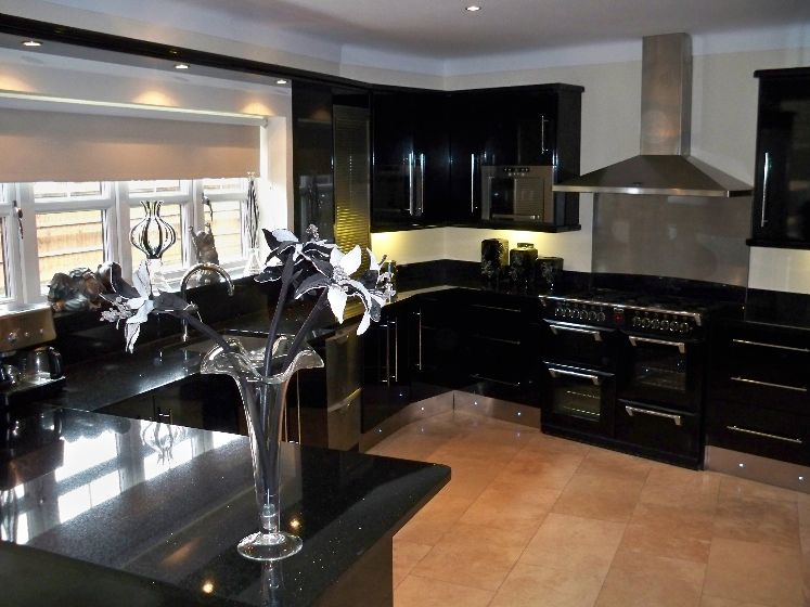 Kitchen Design Black Cabinets kitchen color ideas with dark cabinets 46 kitchens with dark
