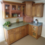 kraftmaid hickory cabinets