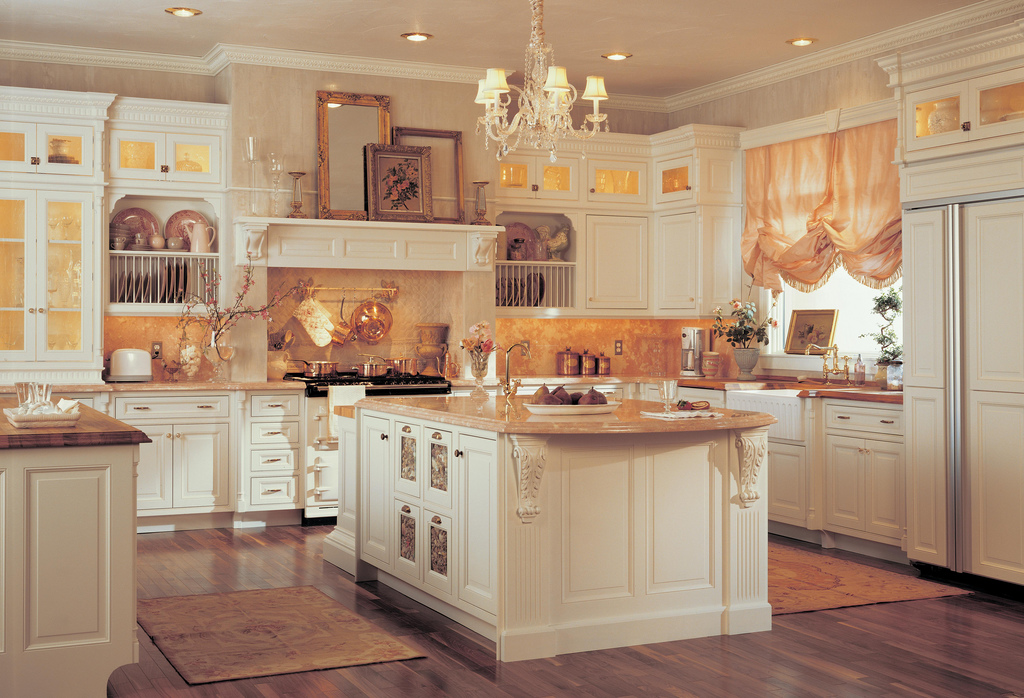 The excellence in medallion kitchen cabinets home and for Carriage house kitchen cabinets