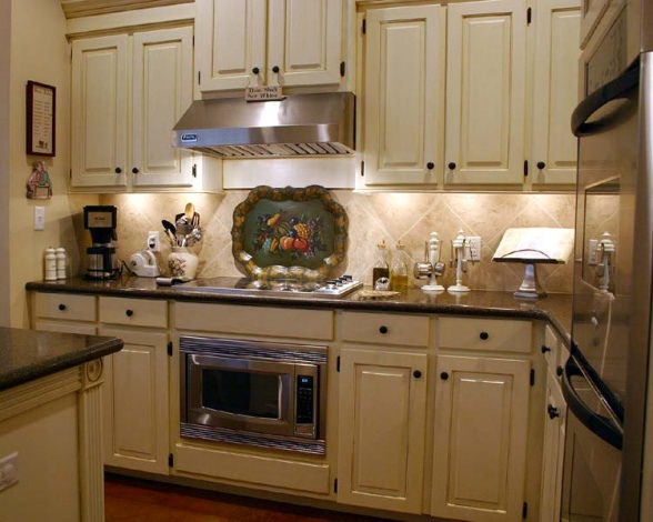 Tips for creating unique country kitchen ideas home and cabinet reviews - French country kitchens ...