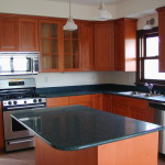 standard kitchen countertop depth