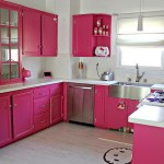Get Your Pink Kitchens