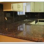 backsplash for tan brown granite
