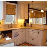 Employing Light Color theme in Kitchen Cabinets Design