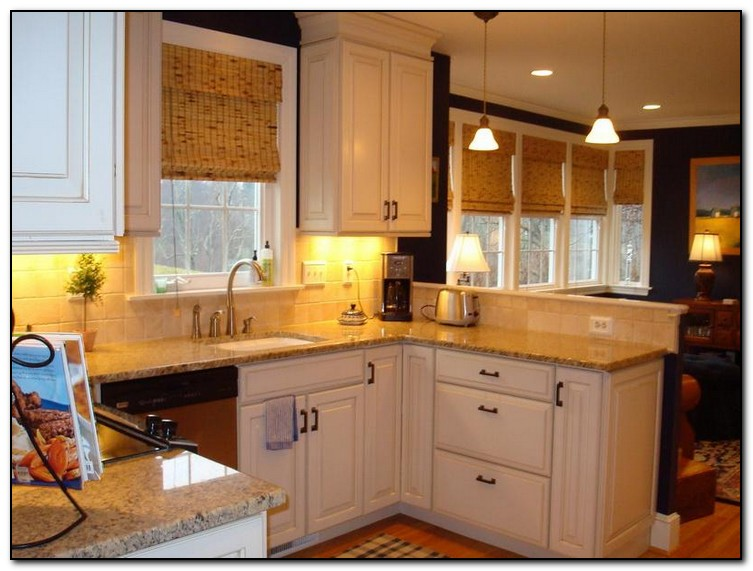 Employing light color theme in kitchen cabinets design home and cabinet reviews - Kitchen colors for ...