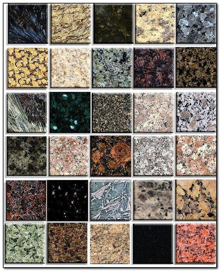 colors of granite for countertops