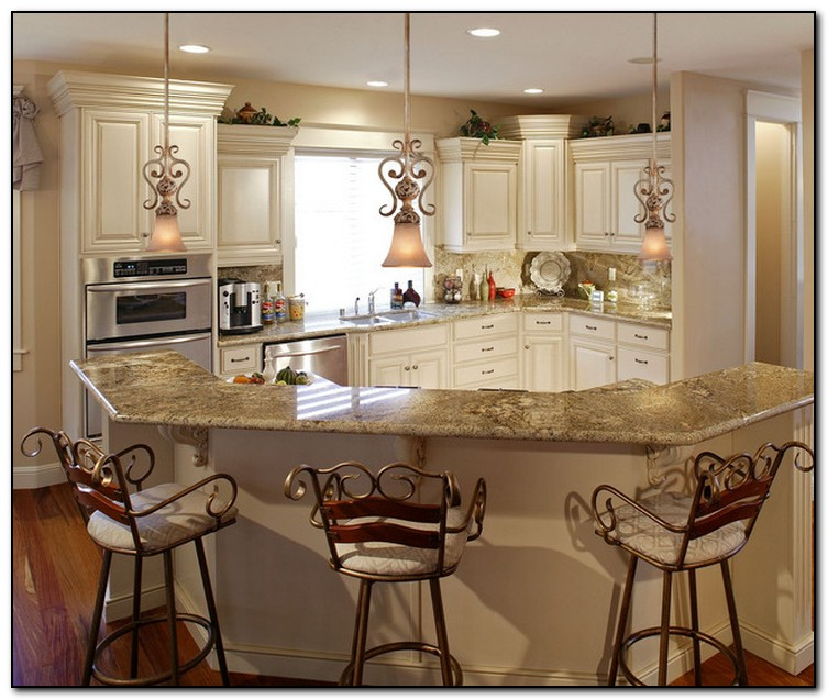 French Country Style Kitchen Decorating Idea French