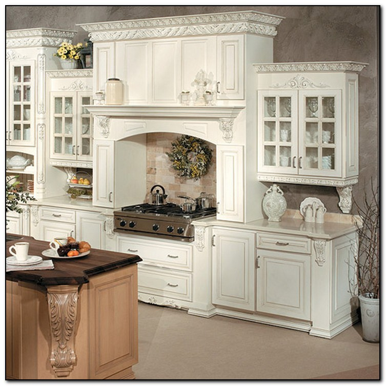 Elegant kitchen cabinets for Kitchen ideas elegant