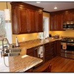 granite colors with cherry cabinets