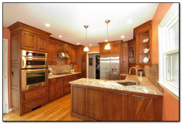 how to plan a kitchen cabinet layout