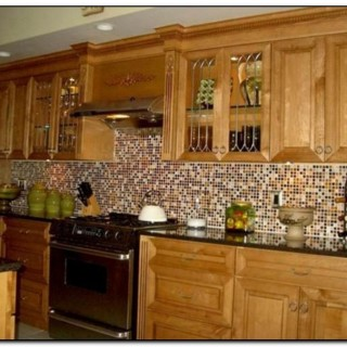 images of glass tile kitchen backsplash