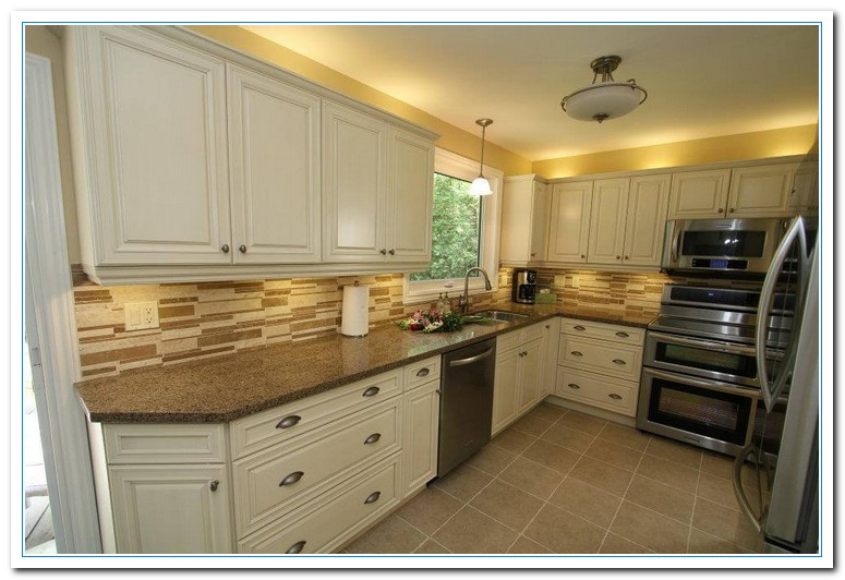 Inspiring painted cabinet colors ideas home and cabinet reviews - Kitchen cabinet paint ideas colors ...