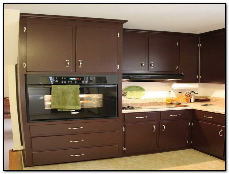Brown Painted Kitchen Cabinets. kitchen cabinets paint ideas Ideas for Unique Kitchen  Home and Cabinet Reviews