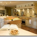 kitchen color ideas with cherry cabinets