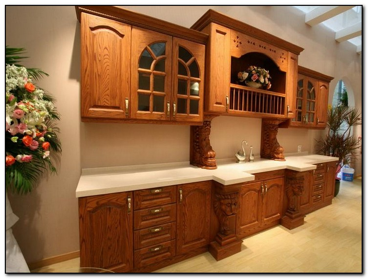 Recommended Kitchen Color Ideas with Oak Cabinets | Home and ...