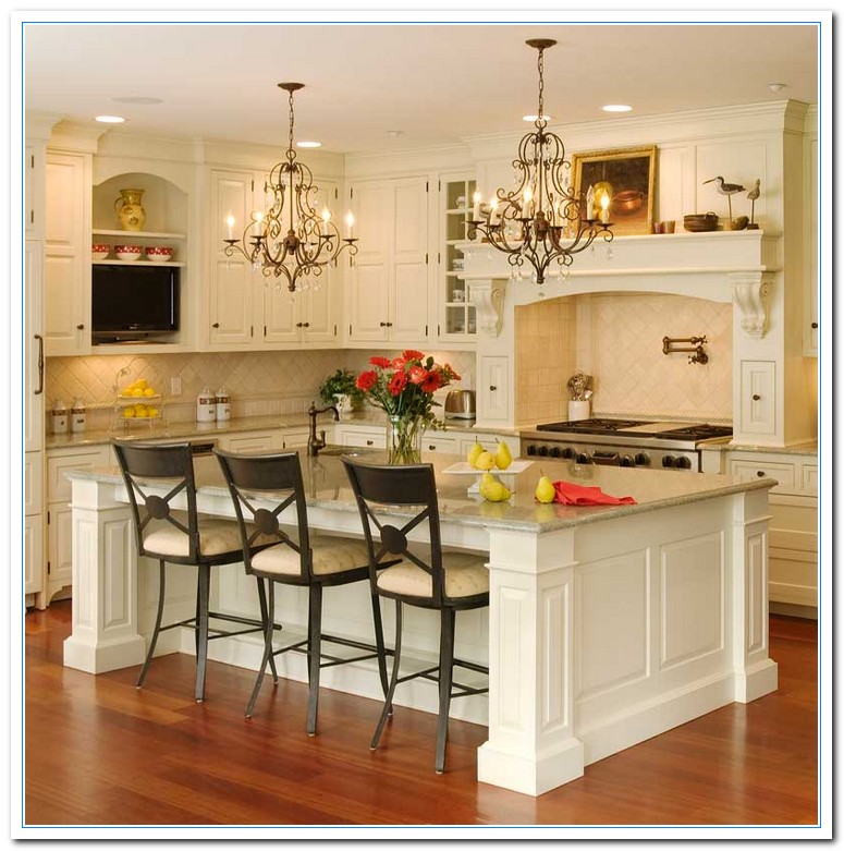 Picture decorating ideas for kitchen home and cabinet for How to decorate a kitchen counter