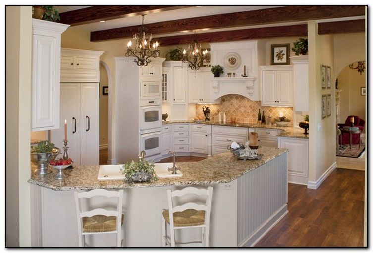 U shaped kitchen design ideas tips home and cabinet reviews for Kitchen design gallery