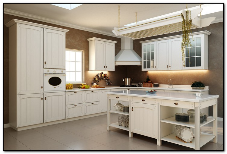 Kitchen cabinet colors ideas for diy design home and for Kitchen cabinet paint design ideas
