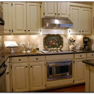kitchen wall colors with cherry cabinets