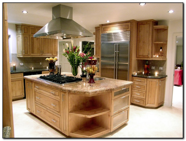 consider the kitchen island for your kitchen design