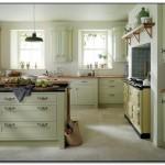 light green kitchens