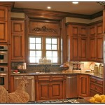 mahogany wood kitchen cabinets
