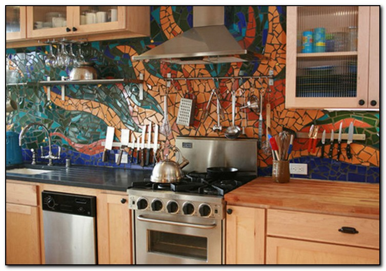 Genial Mexican Tile Kitchen Backsplash