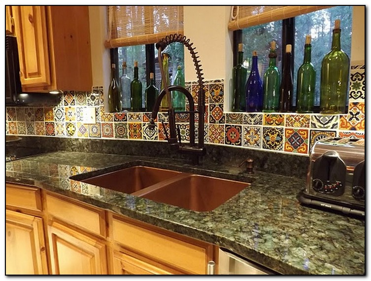 mexican decoration ideas for kitchen home and cabinet mexican tile kitchen backsplash flickr photo sharing