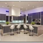 modern fluorescent kitchen lighting