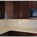 modern kitchen countertops and backsplash