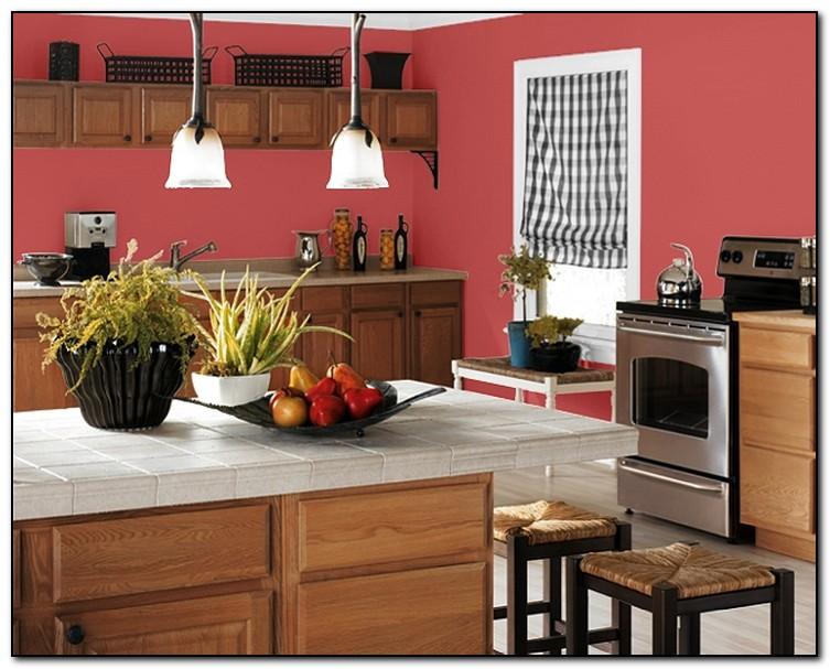 Paint color ideas for your kitchen home and cabinet reviews for Popular kitchen paint colors