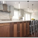 over island lighting in kitchen