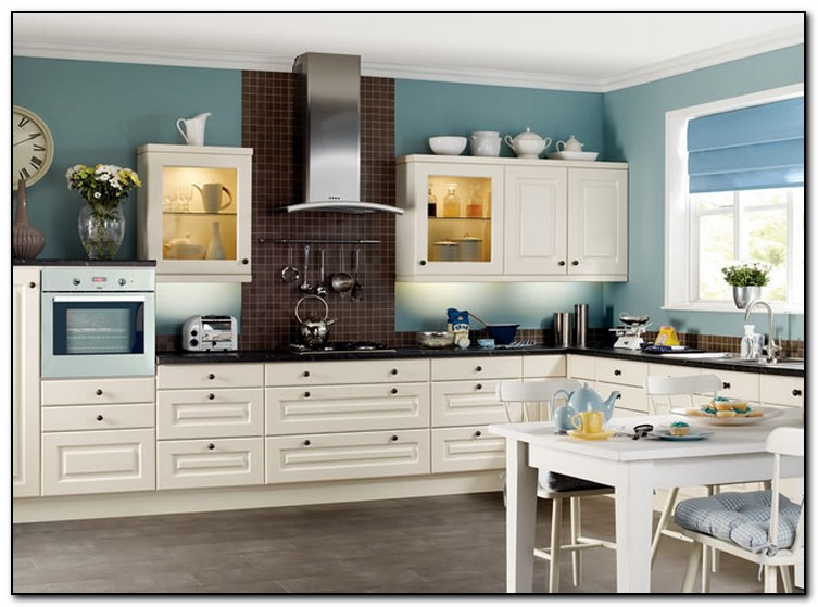 Paint Color Ideas For Your Kitchen Home And Cabinet Reviews - Paint color ideas for kitchen with white cabinets