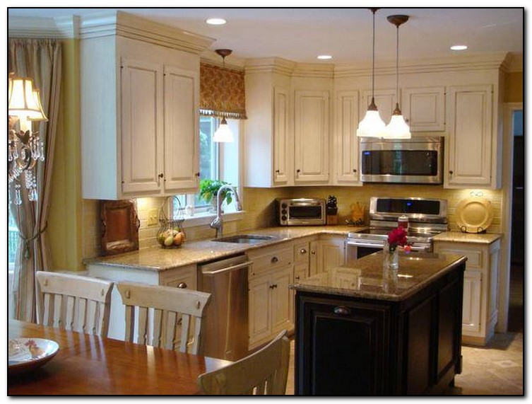 Kitchen Paint Colors With Walnut Cabinets