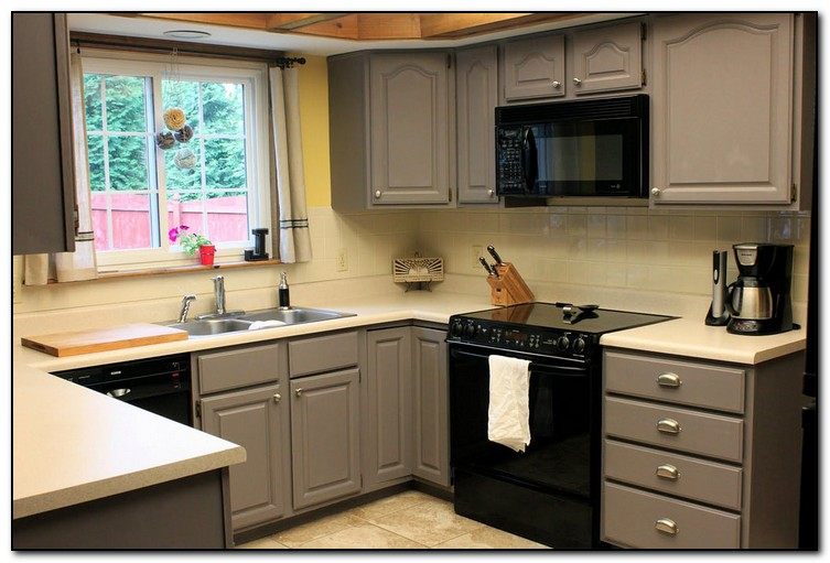 Ideas for unique kitchen home and cabinet reviews for Kitchen cabinet paint colors ideas