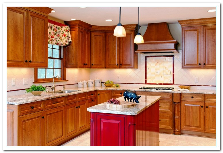 Small kitchen pictures for color scheme choice home and cabinet reviews - Piotures of kitchen ...